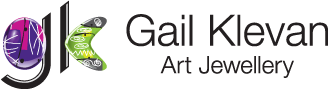 Gail Klevan Acrylic Art Jewellery